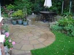 paving circles shapes landscaping