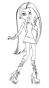 Small Picture Coloring Pages Monster High Coloring Pages Dr Odd Monster High