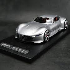 New and used luxury cars for sale by selected dealers around the world (id: 1 18 Hrn Model Mercedes Benz Amg Vision Gran Turismo Concept Resin Car Model Ebay