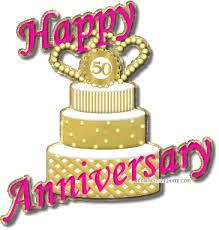 50th Wedding Anniversary Clipart Free Download Best 50th Wedding