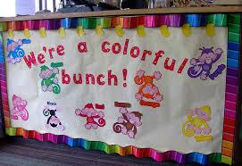 modern bulletin board border idea we re a colorful bunch monkey themed back to elementary amazon design target printable hobby lobby michael diy