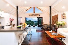 modern beach house plans nz new modern australian beach house open kitchen living room with