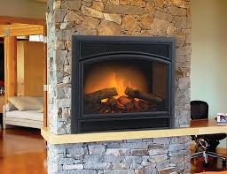 electric fireplace insert logs