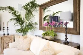 sofa table behind couch against wall. Wonderful Hand Carved Mirror Over Couch With Tropical Elements And Console Table. Finally Something To Think About For My Living Room Re-do Sofa Table Behind Against Wall A