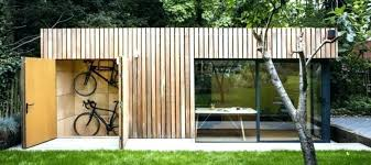 outdoor office shed. Outdoor Office Shed Sheds View In Gallery With Bike Storage .