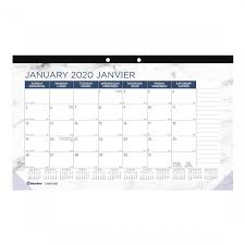 School Calendar Template 2020 17 Blueline Monthly Planners