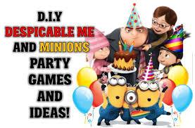 DESPICABLE ME - MINION PARTY GAME IDEAS Minion Relay Race