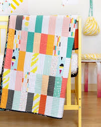 Super Easy Quilt Patterns Free Fascinating Super Simple But I Love The Effect FREE QUILT PATTERN