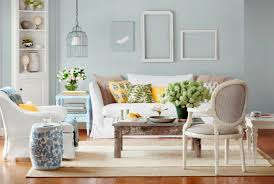 ... chic country bedroom paint color on small home interior ideas with  modern sofas throughout Country home ...