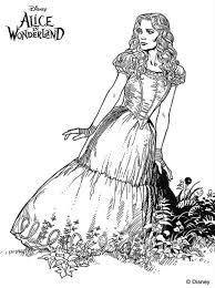 Alice In Wonderland Kleurplaat Jouwkleurplaten