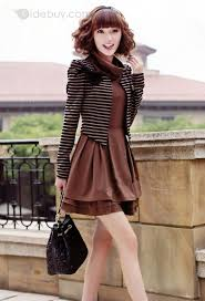 Smart <b>Korean</b> Style <b>Fake Two Pieces</b> Long Sleeve Dress | Clothing I ...