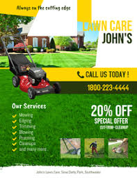 Lawn Mowing Ads 270 Lawn Care Customizable Design Templates Postermywall