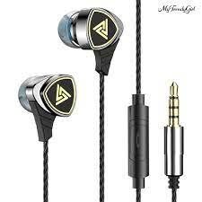 Tai Nghe Nhét Tai Thể Thao Qkz Sk1 Có Dây - Tai Nghe Bluetooth Chụp Tai  Over-Ear