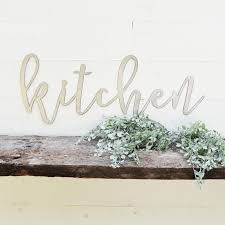 kitchen metal sign metal wall art