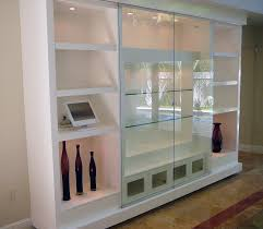 marvellous glass wall units wall mounted display cabinets with glass doors astounding