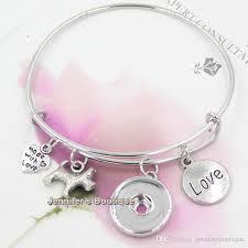 new fashion diy interchangeable jewelry pet dog expandable bangle bracele snaps on bracelets jewelry whole s charm bracelets charms for