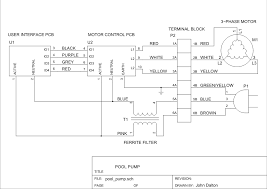 brushless dc motor pool pump controller figure 2 reverse engineered wiring for the pool pumps