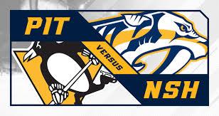 Nashville Predators Vs Pittsburgh Penguins Bridgestone Arena