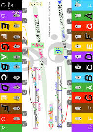 Colourmuse Book 1 Colour Key Chart Book