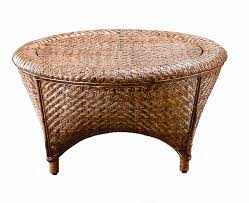 1244 kaki round coffee table