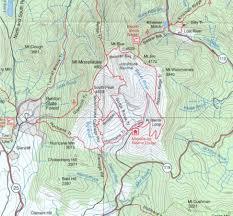 popular  list moosilauke trail map