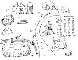 Small Picture Farm Scene CountrySide Coloring Sheets Coloring Pages Photos