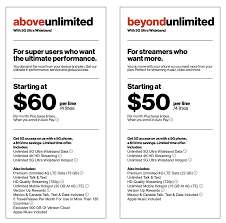 verizon came out with more details on its mobile 5g service for the above and beyond unlimited plans diffe than the 5g home internet service