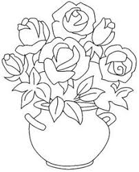 roses coloring page 7 is a coloring page from flowers let your children express their imagination when they color the roses coloring page they will never be