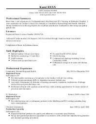 Rn Med Surg Resume Examples Brilliant Med Surg Resume Objective