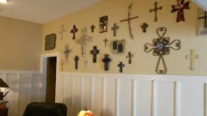 fashionable decorative wall crosses with 21 art metal cross framed