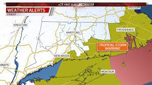 Tropical Storm Warnings Issued for CT ...