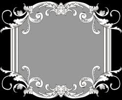vintage black frame png. Vintage Frame Three By Kingoftheswingers Black Png