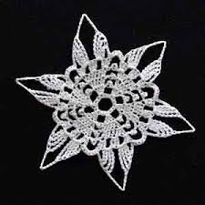 Crochet Snowflake Pattern Chart Crochet Snowflake Patterns