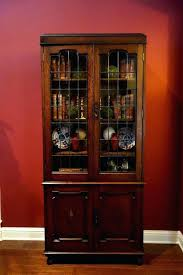 bookcases vintage bookcase with glass doors leaded globe large size of antique oak carved bookshelf