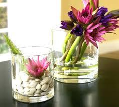 Decorative Glass Vases And Bowls Decorative Glass Vases Charming And Bowls For Centerpieces Clear 3