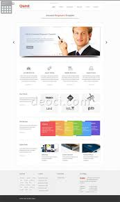 Free Html5 Website Templates Stunning Free Technology Exploration Company Website Design Template 28