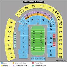 Dkr Texas Memorial Stadium Seating Chart 33 Unexpected New Texas Stadium Seating Chart