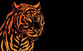 3d Background Images Tiger - Wallpaper Cave