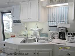 mobile home decorating beach style makeover kitchens beach and rv