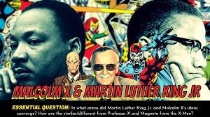 Mlk Vs Malcolm X Venn Diagram Amanda Sandoval