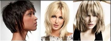 Krátké Asymetrické ženské účesy Zezadu Neobvyklé účesy Pro Středně
