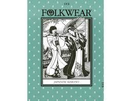 Folkwear Patterns Impressive Folkwear Pattern 48 Japanese Kimono