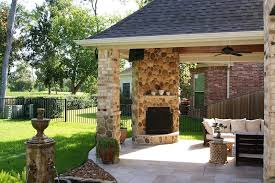 interested in the latest home trends weigh your indoor outdoor fireplace options