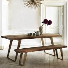 Sylvester Dining Table And Bench Dining Tables Chairs