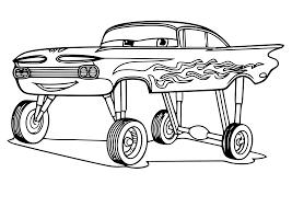Kleurplaat Cars Pixar 2433