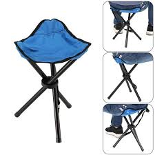 <b>New</b> Portable Tripod Stool <b>Folding Chair</b> with Carrying Case ...