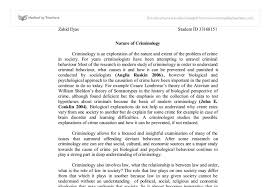 nature of criminology university social studies marked by document image preview