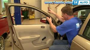 How To Install Replace Manual Side Rear View Mirror Chevy Cobalt ...