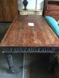 indian carved dining table. 77\ indian carved dining table r