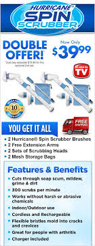 order hurricane spin scrubber now